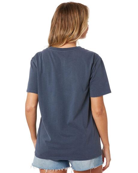 NAVY WOMENS CLOTHING VOLCOM TEES - B3532076NVY