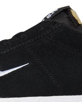 BLACK WHITE MENS FOOTWEAR NIKE SKATE SHOES - AQ7941-001