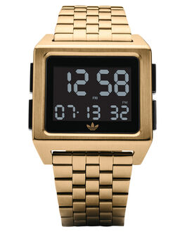 GOLD BLACK MENS ACCESSORIES ADIDAS WATCHES - Z01-513-00GLDBK