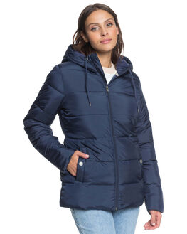 MOOD INDIGO WOMENS CLOTHING ROXY JACKETS - ERJJK03375-BSP0