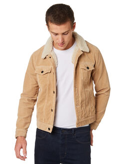 SANDY CORD MENS CLOTHING A.BRAND JACKETS - 812744307