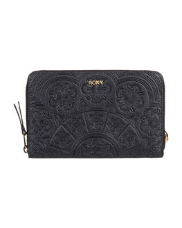 ANTHRACITE WOMENS ACCESSORIES ROXY PURSES + WALLETS - ERJAA03709-KVJ0