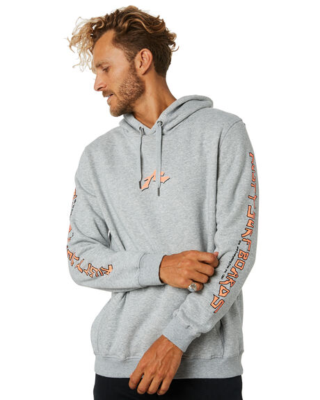 GREY MARLE MENS CLOTHING RUSTY JUMPERS - FTM0874GMA
