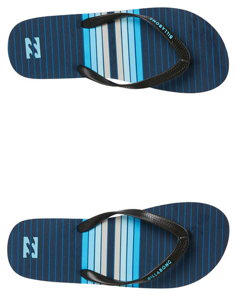 NAVY MENS FOOTWEAR BILLABONG THONGS - 9681931NVY