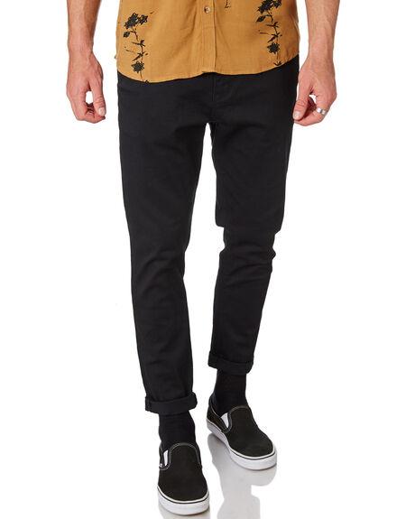 BLACK MENS CLOTHING A.BRAND PANTS - 81293B100