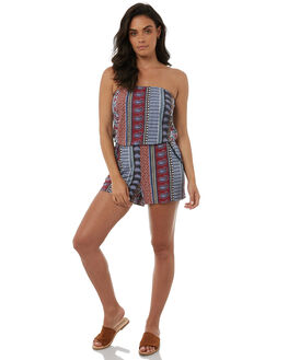 MULTI WOMENS CLOTHING TIGERLILY PLAYSUITS + OVERALLS - T385414MULTI