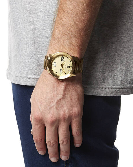 ALL GOLD MENS ACCESSORIES NIXON WATCHES - A346502