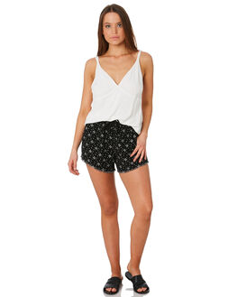 BLACK WOMENS CLOTHING SWELL SHORTS - S8171233BLK