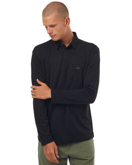 BLACK MENS CLOTHING QUIKSILVER SHIRTS - EQMKT03014KVJ0