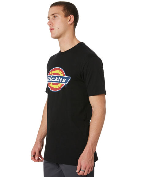 BLACK MENS CLOTHING DICKIES TEES - K3170140BK
