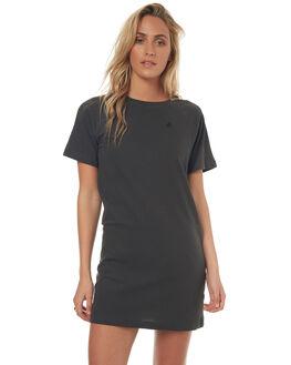 VINTAGE BLACK WOMENS CLOTHING VOLCOM DRESSES - B1341708VBLK