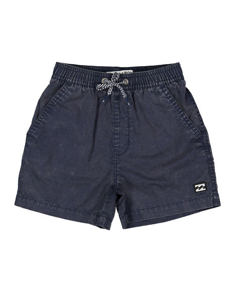 NAVY ACID KIDS BOYS BILLABONG SHORTS - BB-7591404-NAI