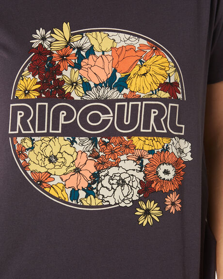 NINE IRON WOMENS CLOTHING RIP CURL TEES - GTEFB24285