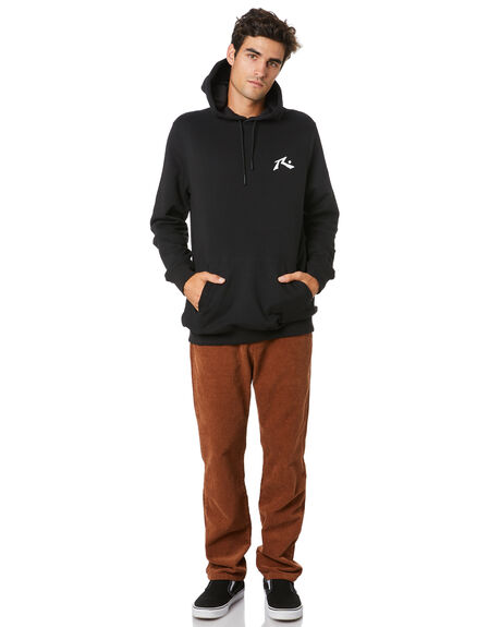BLACK MENS CLOTHING RUSTY JUMPERS - FTM0918BLK