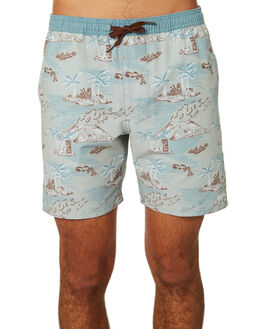 SEAFOAM MENS CLOTHING RHYTHM BOARDSHORTS - JAN19M-JM07-SEA