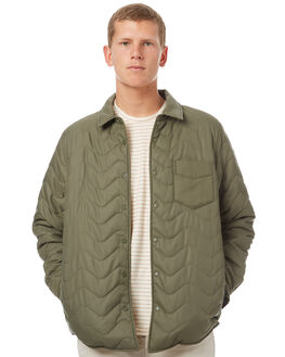 OLIVE MENS CLOTHING OUTERKNOWN JACKETS - 1510020OLV