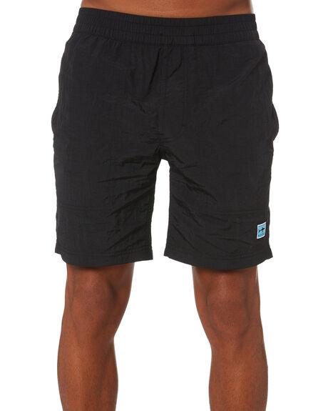 BLACK MENS CLOTHING BARNEY COOLS BOARDSHORTS - 608-0221BLK