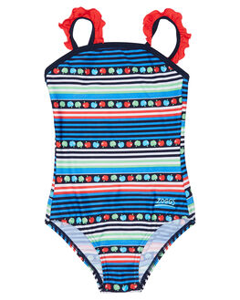 MULTI STRIPE KIDS TODDLER GIRLS ZOGGS SWIMWEAR - 5104170MLSTR