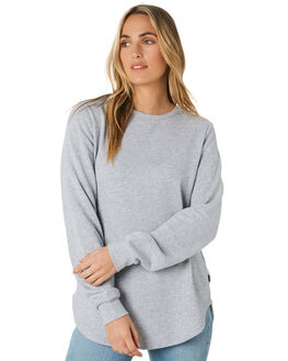 GREY MARLE WOMENS CLOTHING SILENT THEORY JUMPERS - 6010032GRM