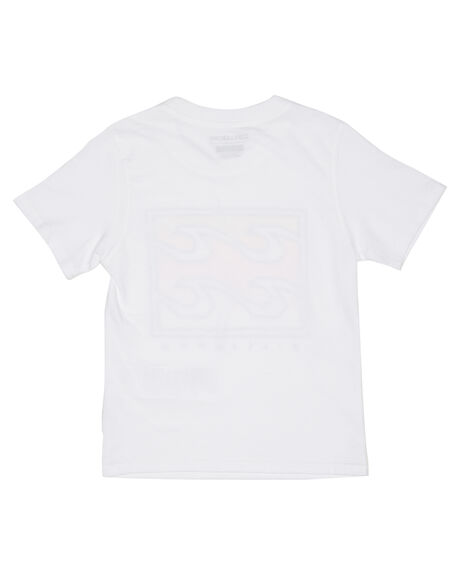 WHITE KIDS BOYS BILLABONG TOPS - 7595001WHT