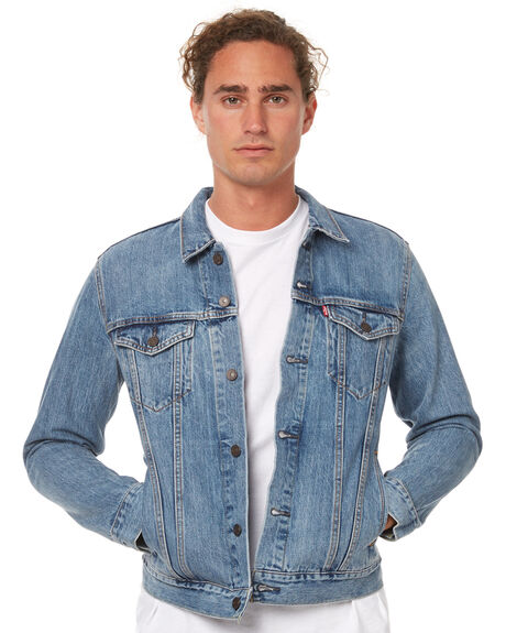 b7af62e7ba104 Levi`S The Trucker Mens Jacket - Icy | SurfStitch