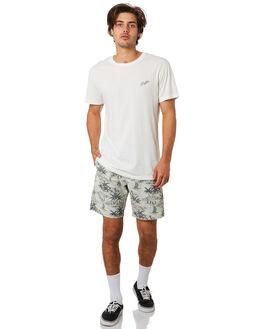 WHITE MENS CLOTHING RHYTHM TEES - JUL19M-PT01-WHT
