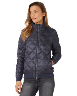 SMOLDER BLUE WOMENS CLOTHING PATAGONIA JACKETS - 28105SMDB