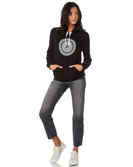 BLACK WOMENS CLOTHING HURLEY JUMPERS - AGFLMNDLA010