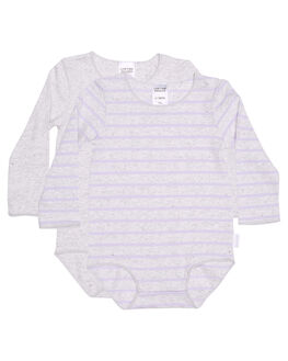 LAVENDER MARBLE KIDS BABY BONDS CLOTHING - BY4QA02K