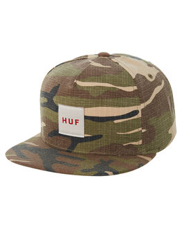 DEEP OLIVE MENS ACCESSORIES HUF HEADWEAR - HT00230DPOL