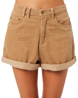 TAN WOMENS CLOTHING INSIGHT SHORTS - 5000003152TAN