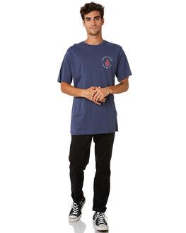 BLUE MENS CLOTHING VOLCOM TEES - A504188GBLU