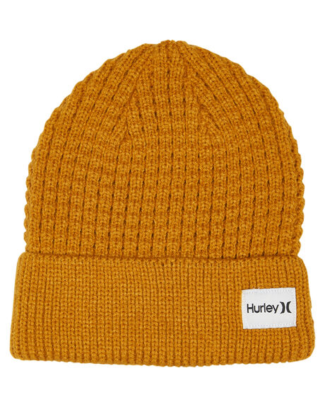 GOLD SUEDE MENS ACCESSORIES HURLEY HEADWEAR - CI7104781