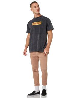 TAN MENS CLOTHING THE PEOPLE VS PANTS - AW19068-TANTAN