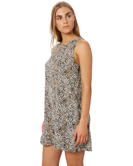 LEOPARD WOMENS CLOTHING VOLCOM DRESSES - B1341977LEO