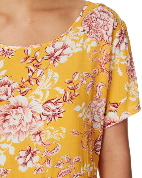 SUMMER FLORAL PRINT OUTLET WOMENS ALL ABOUT EVE DRESSES - 6423051PRNT
