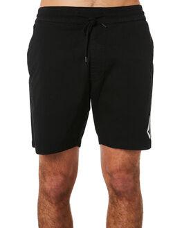 BLACK MENS CLOTHING VOLCOM SHORTS - A1031802BLK