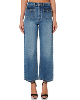 WALLFLOWER WOMENS CLOTHING A.BRAND JEANS - 71496-3799