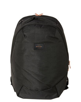 BLACK WOMENS ACCESSORIES RIP CURL BAGS + BACKPACKS - LBPMT10090