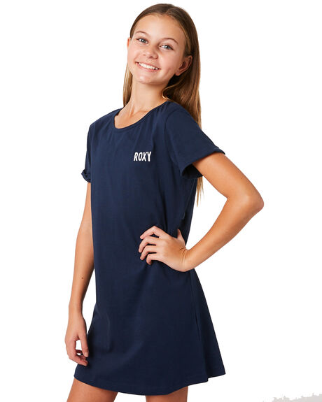 DRESS BLUES KIDS GIRLS ROXY DRESSES + PLAYSUITS - ERGKD03067BTK0