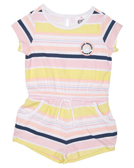 MULTI STRIPE KIDS TODDLER GIRLS EVES SISTER PLAYSUITS + OVERALLS - 8000065STR