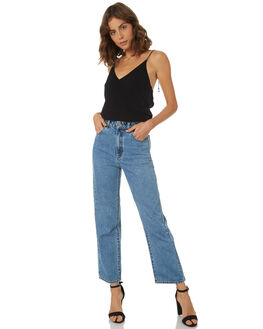 RUN AWAY WOMENS CLOTHING A.BRAND JEANS - 71302-3853