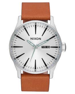 SILVER TAN MENS ACCESSORIES NIXON WATCHES - A1052853