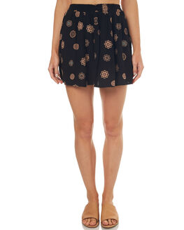 BLACK WOMENS CLOTHING ELEMENT SKIRTS - 274853BLK