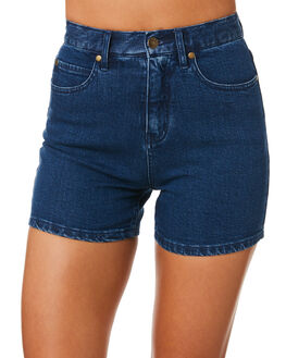 ELECTRIC BLUE WOMENS CLOTHING AFENDS SHORTS - W184301EBLU