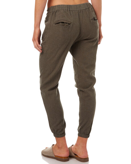 OLIVE WOMENS CLOTHING RIP CURL PANTS - GPADC10058