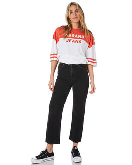 BACK IN BLACK WOMENS CLOTHING ABRAND JEANS - 71921-5195