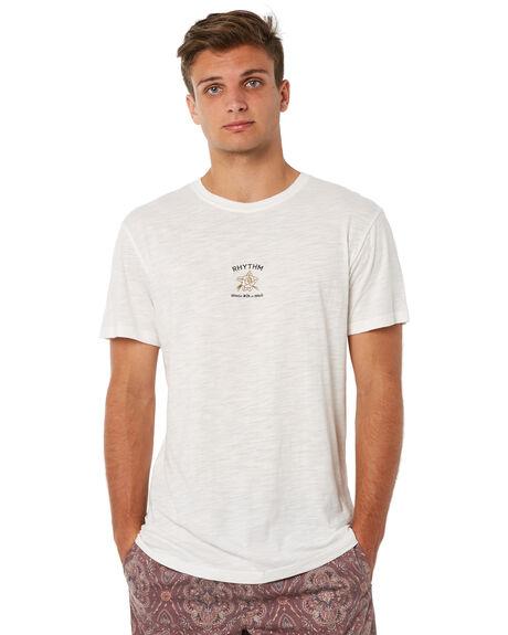 WHITE MENS CLOTHING RHYTHM TEES - JUL18M-PT05WHT