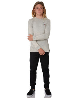 ACID GREY KIDS BOYS SWELL TOPS - S3184105ACDGY