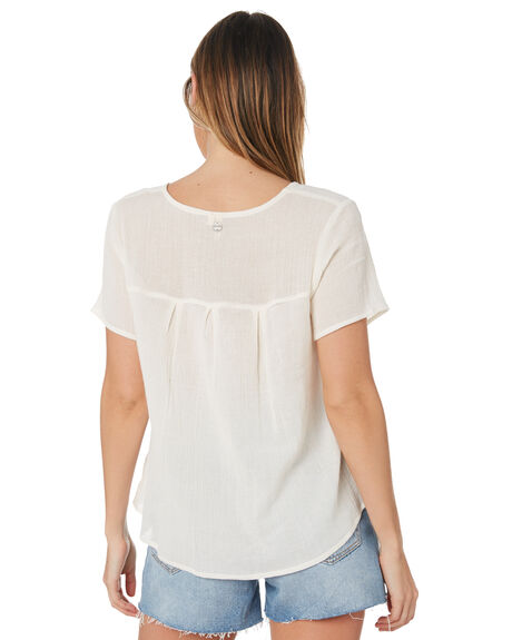 OFF WHITE WOMENS CLOTHING RIP CURL FASHION TOPS - GSHFP10003